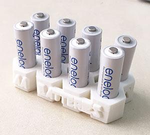 単三電池用スタンド