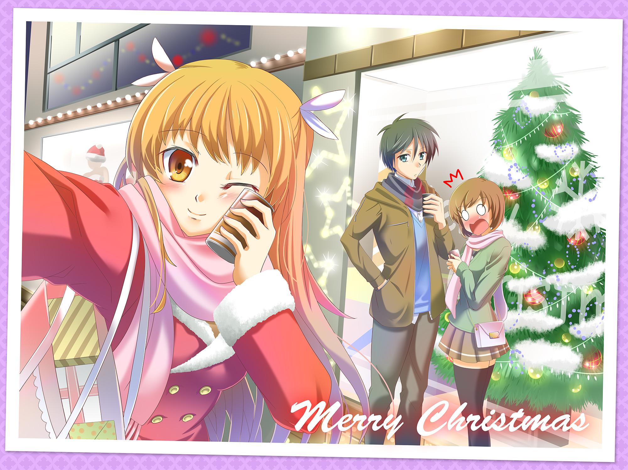 『お兄ちゃんのクリスマスデートをチェキ☆』